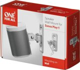 One For All WM5341 WH Solid Zub. SONOS PLAY 1 Wand