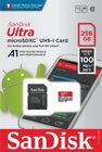Sandisk Ultra Android microSDXC 256GB A1 UHS-I + S