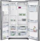 Siemens Side-by-Side KA90DVI30, 533 l, Silber, NoFrost