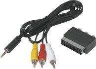 Technisat Adapterset Klinke auf Cinch/Scart für TS