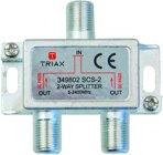 Triax SCS 2, Sat-Verteiler, 2 Fach