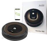 iRobot Roomba 980 Saugroboter, Rund, Schwarz B-Ware