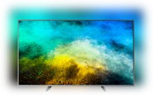 Philips 4K UHD-LED-Fernseher 55PUS7803/12, Ultraflacher Android-TV, 139 cm